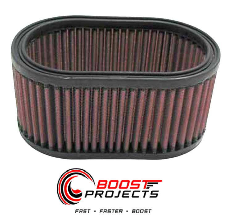 Precision Turbo Air Filter: K&N Washable Lifetime Performance Air Filter Oval * E-3341