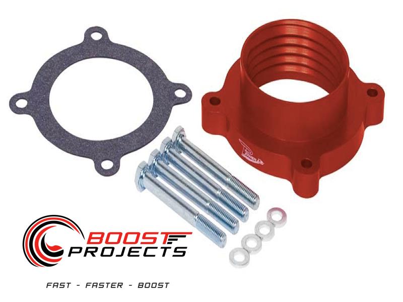 AIRAID Poweraid Throttle Body Spacer 07-11 Jeep Wrangler 2.8L 3.8L 310-616