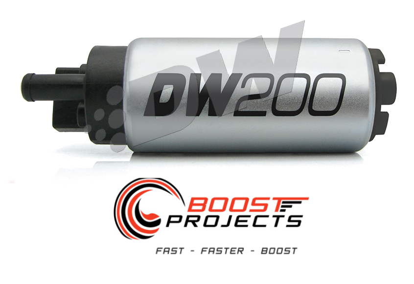 Deatschwerks DW200 255LPH Fuel Pump /& Install Kit 1994-2005 Mazda Miata