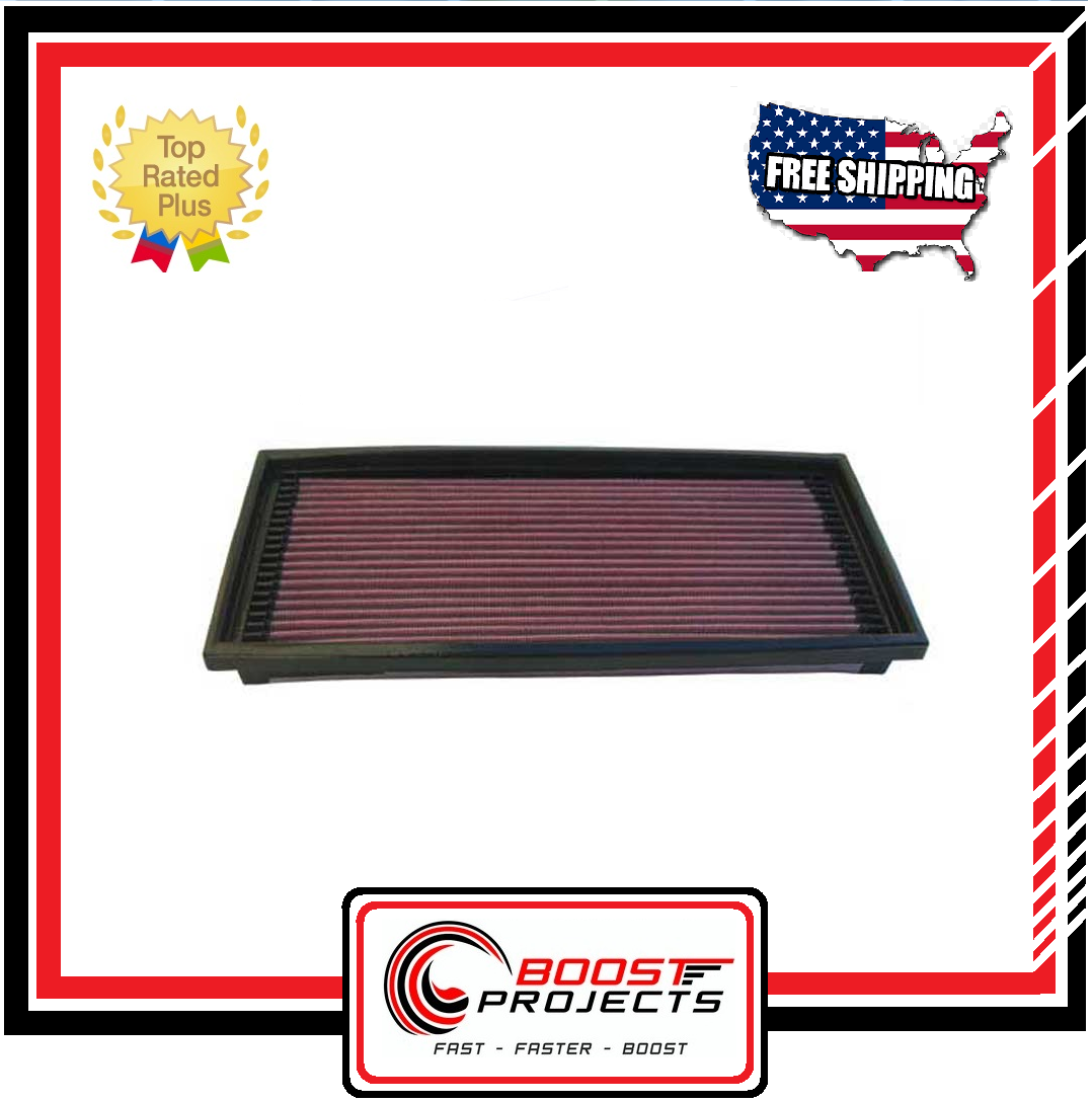 Fits Chevy Corvette 1985-1989 K/&N Performance High Flow Replacement Air Filter