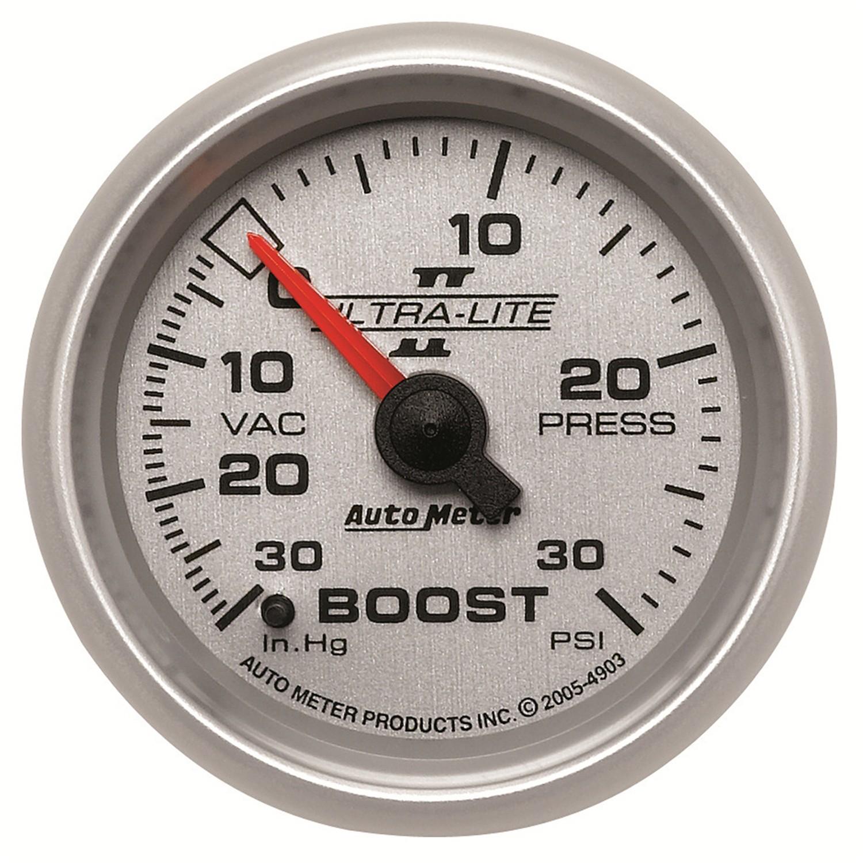 Auto Meter 6107 Cobalt Mechanical Boost Vacuum Gauge