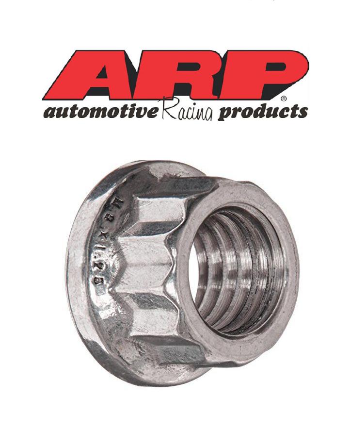 ARP 12-Point Nut Kit M12 X 1.25 SS .750OD 400-8308
