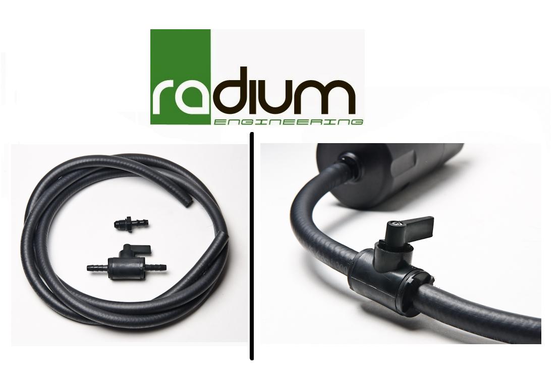 Radium Catch Can Petcock Drain Kit 20-0024